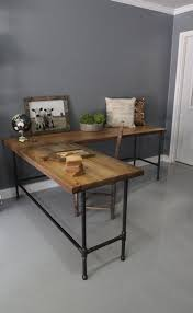 280 Up To 25 OFF Weekend SALE L Shaped Desk Wood By DendroCo