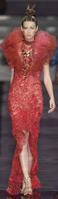 100 Mim Design Couture Catriona Balfe In Emmanuel Ungaro CAITRIONA BALFE
