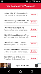 Coupons For Walgreens For Android - APK Download Scam Awareness Or Fraud Walgreens 25 Off 150 Rebate From Alcon Dailies Shipping Coupon Code Creme De La Mer Discount Photo Book Printable Coupons For Sales Coupons Ads September 10 16 2017 Modells In Store Whitening Strips Walgreens 2day Super Savings Pass Fake Catalina And Circulating Walgensstores Calendars Codes 5starhookah 2018 Free Toothpaste Toothbrush Coupon With Kayla