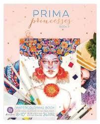 Prima Princess Coloring Book 2