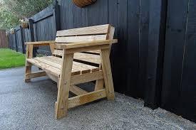 donn wooden benches outdoor plans 8x10x12x14x16x18x20x22x24