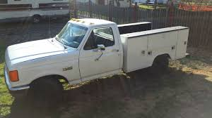 100 F350 Ford Trucks For Sale 1990 FORD TRUCK WITH 73L DIESEL ENGINE WITH UTILITY BED