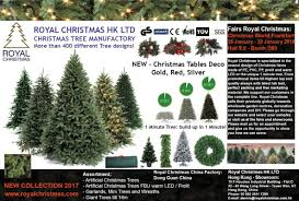 Realistic Artificial Christmas Trees Nz by Royal Christmas Since 1936 Based In Hong Kong China And The