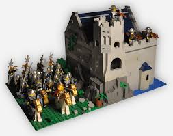 100 Small Lego House Castle With Army First Thing That Ive Build In 10 Years Lego