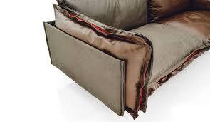 arketipo canapé canapé contemporain en cuir 2 5 places marron auto