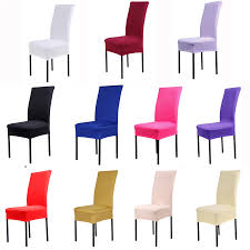 Free Shipping Hot Sale 1 Piece Chair Covers Jacquard Stretch For Dining Room Decoration Short Half Machine Washable In Cover From Home