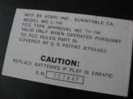 Halloween Atari 2600 Reproduction by Atari U2013 Page 4 U2013 Game Museum Blog U0026 Store