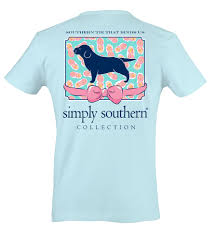 simply southern preppy collection southern tie t shirt for women