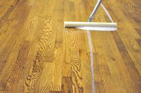 Applying Polyurethane To Hardwood Floors Without Sanding by How To Refinish Hardwood Floors One Project Closer