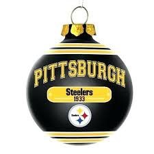 Pittsburgh Steeler Ornaments Christmas Tree Steelers Decorations