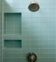 light blue glass subway tile in vapor modwalls lush 3x6 tile