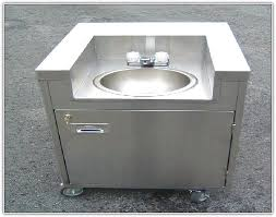 stainless steel utility sink with legs home design ideas