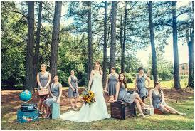 Bride Bridesmaid Travel Theme Vintage Camera Wedding