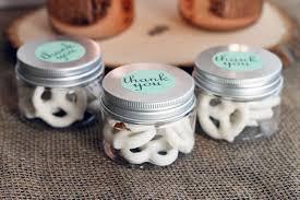 Mini Mason Jars Wedding Favors