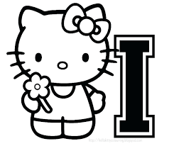 Hello Kitty Valentine Coloring Pages Free And Friends Valentines Day Printable Sheets Kids Get Latest Im