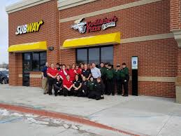 100 Loves Truck Stop Corporate Office Travel S Is Open In Floyd Features Godfathers Pizza