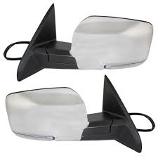 AutoandArt.com - 09-12 Dodge Ram Pickup Truck New Pair Set Power ... Best Towing Mirrors 2018 Hitch Review Side View Manual Stainless Steel Pair Set For Ford Fseries 19992007 F350 Super Duty Mirror Upgrade How To Replace A 1318 Ram Truck Power Folding Package Infotainmentcom 0809 Hummer H2 Suv Pickup Of 1317 Ram 1500 2500 Passengers Custom Aftermarket Accsories Install Upgraded Tow 2015 Chevy Silverado Lt Youtube