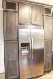 Rustic Shaker Gray Kitchen Cabinets In Stock