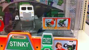 He Eats! He Dumps! He's Stinky The Garbage Truck! Stinky The Garbage Truck From Mattel Youtube Cheap Side Loader Find Amazoncom Matchbox Real Talking Mini Toys Stinky The Garbage Truck In Blyth Northumberland Gumtree Dxt65 Vehicle Vip Outlet Toy Trucks Unboxing Matchboxs Interactive Toyages 3 New In Box Eats Surprise Cars And Disney 2009 Ebay Buy Big Rig Buddies By Lego Juniors Shop For