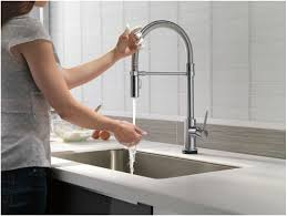 Delta Touch Faucet Battery Location by Faucet Com 9659t Ar Dst In Arctic Stainless By Delta