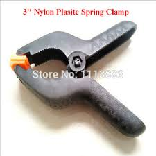 Get Quotations 20PCS LOT 3 Muslin Clamps Nylon Plastic Spring Clips A Type Strong Woodworking
