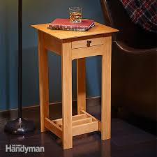 How To Build Wooden End Table by Simple Rennie Mackintosh End Table Plans Family Handyman