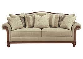 Milari Linen Queen Sofa Sleeper by Harlem Furniture Milari Linen Queen Sofa Sleeper