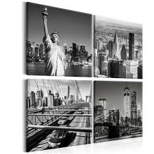 leinwand bilder new york panorama eiffelturm