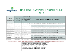 Nyc Christmas Tree Disposal 2014 by Iesi Pa News And Updates 2016 Holiday Pickup Schedule A