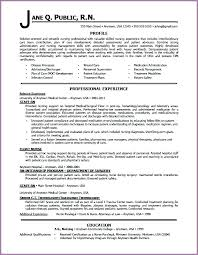 Personal Profile Resume Sample How To Write A Professional Genius Writing Samples