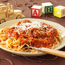 ThreeMeat Spaghetti Sauce Recipe Taste of Home