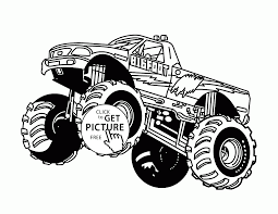 100 Monster Truck Kids Bigfoot Jumps Coloring Page For Kids Transportation