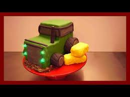 einfache anfängerfreundliche traktor torte traktor