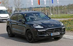 2018 Porsche Cayenne Interior Revealed Gets r Infotainment