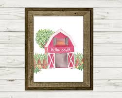 Watercolor Red Barn Nursery Digital Art Print~Nursery Art Print ... Red Barn Nursery Inc Whosale Florist Nicholasville Ky 40356 268 Best Gift Shop At The Chattanooga Images On Baby Girl Ideas Pinterest Inside Myrtle Creek Garden Bloom Cafe Farmhouse Gift Shop And John Deere Nursery Quattro Deere Pink And Brown Decor Pmylibraryorg Functional Trendy Boys Jennifer Jones Hgtv Richards Center City Drug Bust All On Georgia Walker County 369 Pottery Outlet Tn In Tennessee Vacation Decorating Delightful Picture Of Bedroom
