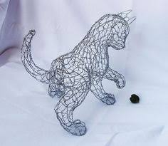 Twisting Wire To Create Cute Animal Sculptures By Ruth Jensen CAT