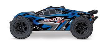 100 Traxxas Stadium Truck Rustler 4X4 110 Scale 4WD RTR No Battery