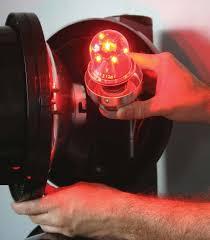 custom led ls for traffic signals win brazil energy award leds