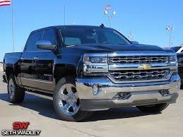 100 Black Trucks For Sale 2018 Chevy Silverado 1500 LTZ 4X4 Truck Pauls Valley OK