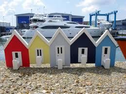 beach huts and beach hut accessories in the uk coastal decor