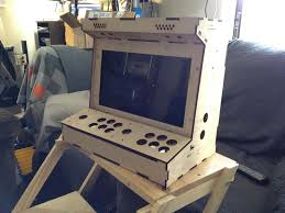 Mame Cabinet Plans 4 Player by Diy Arcade Cabinet Kits More 2 Player Porta Pi