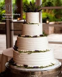 Rustic Garden Buttercream Wedding Cake