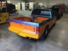 100 Pro Street Truck Chevy S10 Pickup Fantastic Paint Narrowed