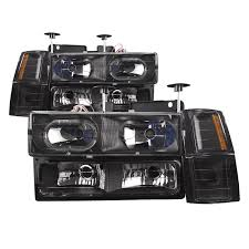 1988-1998 Chevy Truck 8-Piece Black Halo Headlights Set W/Xenon Bulbs 881998 Chevy Truck 8piece Black Halo Headlights Set Wxenon Bulbs Billet Front End Dress Up Kit With 7 Single Round 1973 Lumen Ck Pickup 1964 Projector Led Dna Motoring For 0306 Silveradoavalanche 4pc Headlight 5 Inch 1958 Wiring Diagrams Schematics 03 04 05 06 Silverado 1500 Tail Lights Parking Light 9499 Suburban Blazer Headlamps Light Blue Trucks Elegant Chevrolet Colorado Crew Cab Photo 9902 1 Piece Grille Cversion Dash In 2017 Are Awesome The Drive 072014 Tahoe Avalanche Tron Style Neon Tube