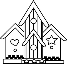 Adult Houses Coloring Pages Printable