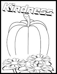 Print These Kindness Coloring Pages For Free With