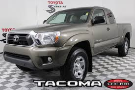 100 Santa Fe Truck Toyota Tacoma S For Sale In NM 87501 Autotrader