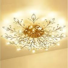 großhandel europa luxus kristall kronleuchter deckenleuchte gold schwarz led lüster für schlafzimmer g4 kronleuchter leuchten le loft luster