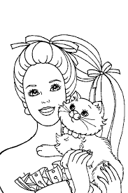 Barbie Coloring Pages Are Of Course Made For Girls As Mostly Play With These Dolls But When Boys Love To Color Them In Its Allowed