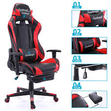 New High Back Racing Car Style Bucket Seat Office Desk Chair Gaming ... Gaming Chairs Alpha Gamer Gamma Series Brazen Shadow Pro Chair Black In Tividale West Midlands The Best For Xbox And Playstation 4 2019 Ign Serta Executive Office Beige 43670 Buy Custom Seating Kgm Brands Dont Before Reading This By Experts Arozzi Vernazza Review Legit Reviews Sofa Home Cinema Two Recling Seats Artificial Leather First Ever Review X Rocker Duel Vs Double Youtube Ewin Champion Ergonomic Computer With